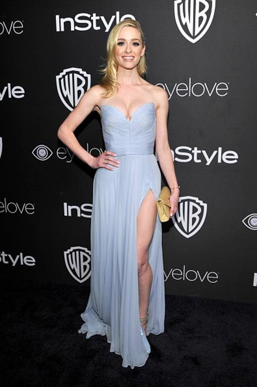 Greer Grammer InStyle Golden Globes Party