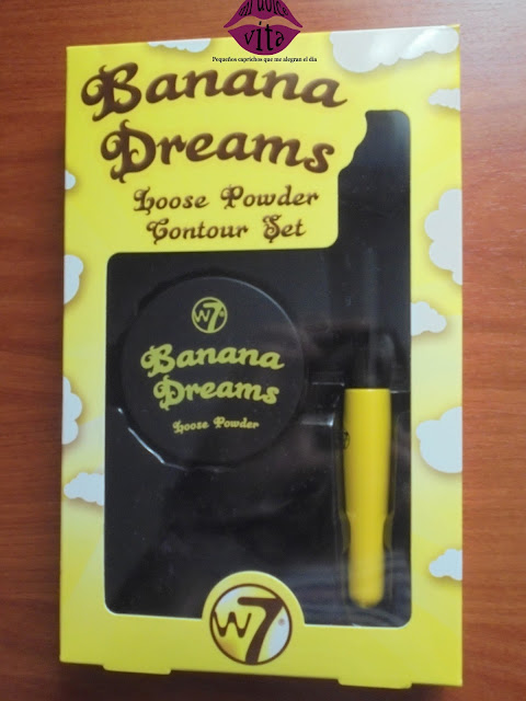 banana dreams loose powder contour set