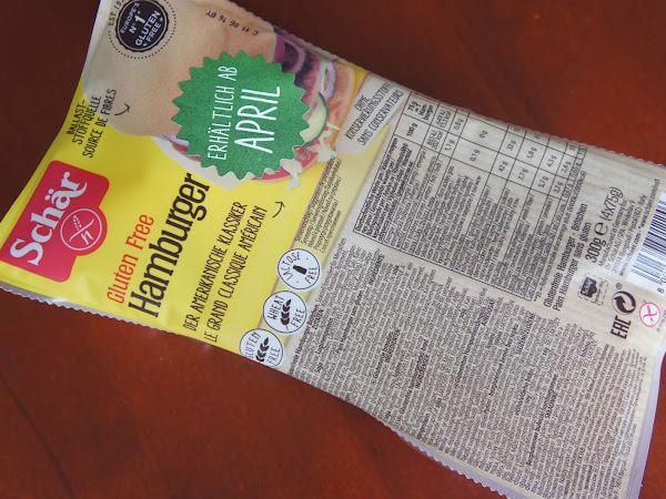 NEU: glutenfreie Hamburger Brötchen von Schär