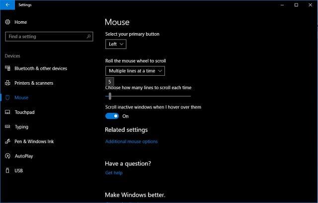 Begini Cara Mengatur Kecepatan Scroll Mouse pada Windows 10 3