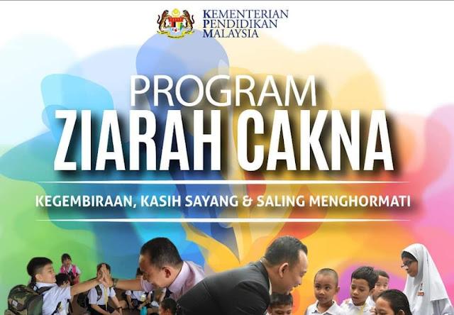 Teks Ucapan Perasmian Program Ziarah Cakna