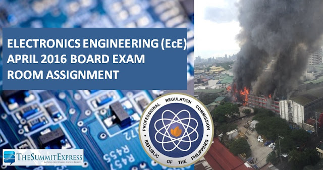 NOT POSTPONED! PRC moves venue of April 3-5, 2016 ECE, ECT board exam