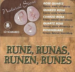 Runas Cuarzo Rosa Lo scarabeo 1
