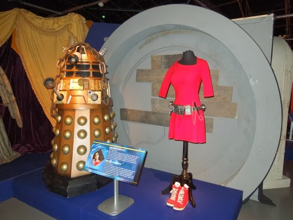 Doctor Who Asylum of the Daleks exhibit