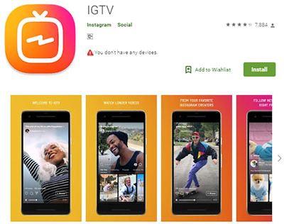 Cara Upload Video di IGTV Instagram dari Hp dan Web Cara Upload Video di IGTV Instagram dari Hp dan Web