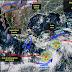 El SMN vigila sendas zonas de inestabilidad con bajo potencial ciclónico, en las cuencas del Pacífico y el Atlántico.