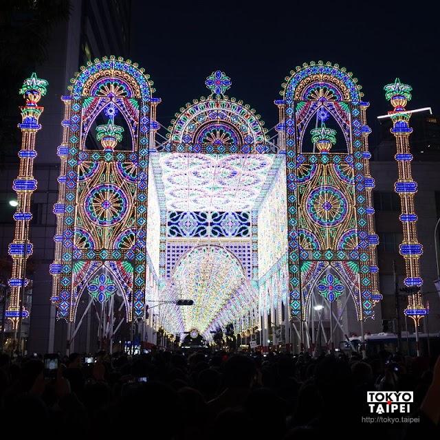 【神戶Luminarie】用光的華麗雕刻 追悼那年的阪神地震