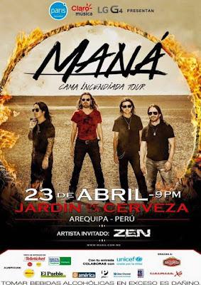 Maná en Arequipa