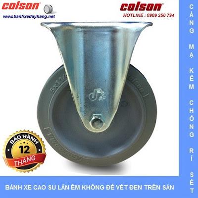 Bánh xe đẩy cao su đặc giá rẻ SP Caster Colson Mỹ tại Gia Lai www.banhxepu.net