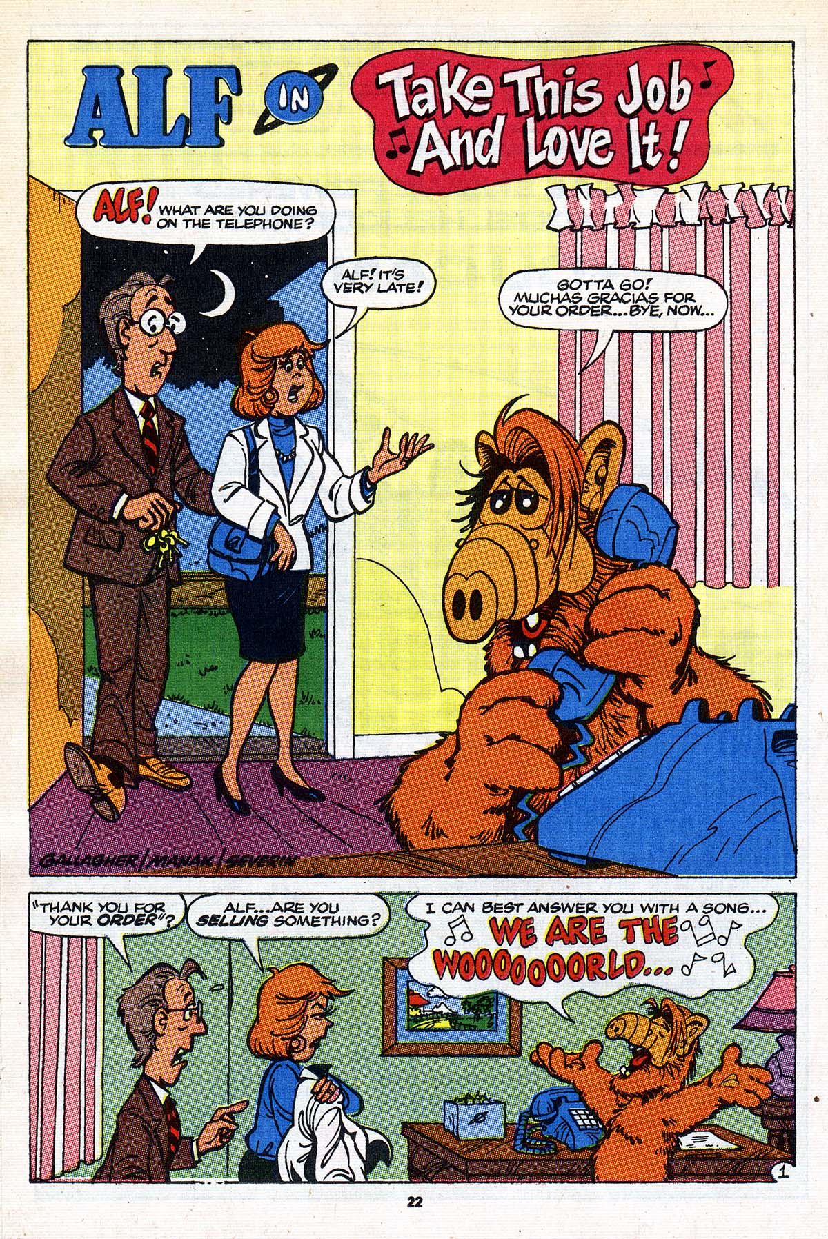 Read online ALF comic -  Issue #26 - 18