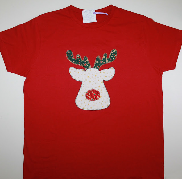 camiseta navidad reno