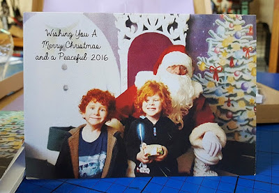good review personalised own photo christmas cards