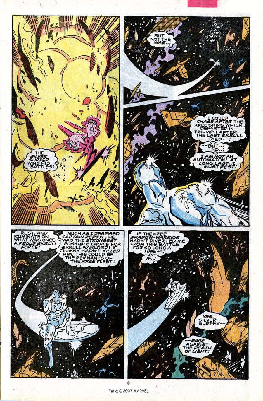 Read online Silver Surfer (1987) comic -  Issue #30 - 5