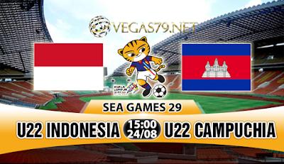 Nhận định bóng đá U22 Indonesia vs U22 Campuchia