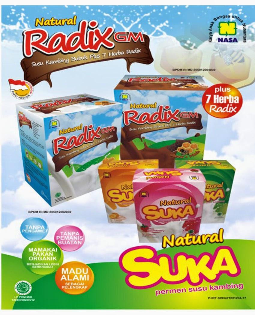 Lecith Nasa Untuk Wajah Dan Kesehatan: SUSU KAMBING ALAMI RADIX GM