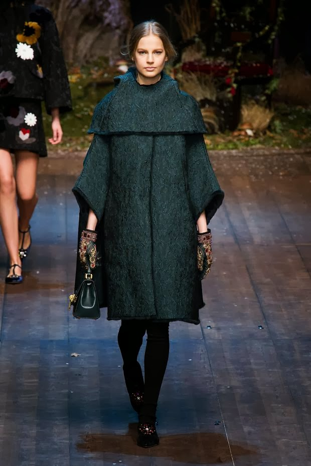 Fashion Runway Dolce Gabbana Fall 2014 Rtw Cool Chic
