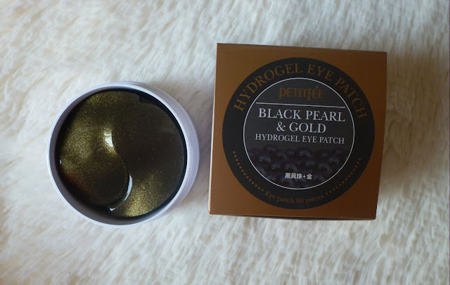 Black Pearl & Gold Hydrogel Eye Patch