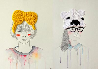 Artistas Creativos. Pintar y Tejer Simbiosis