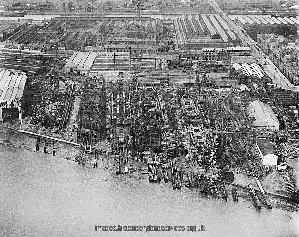 Barrow dockyard