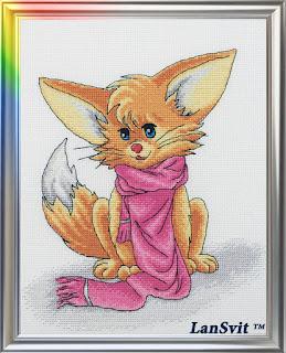 Cross-stitch Lan Svit D-021 «A Beauty»