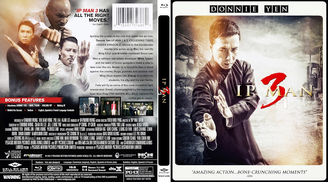 Yip Man 3 Bluray Cover