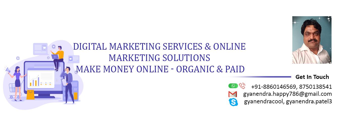 Digital Marketing Consultant | Grow Online Business with help of #GYAN