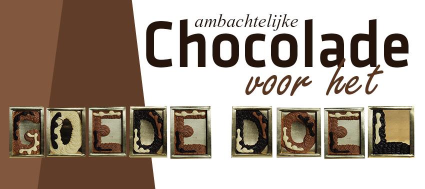 Van elke verkochte chocoladeletter gaat er 1 euro naar het goede doel