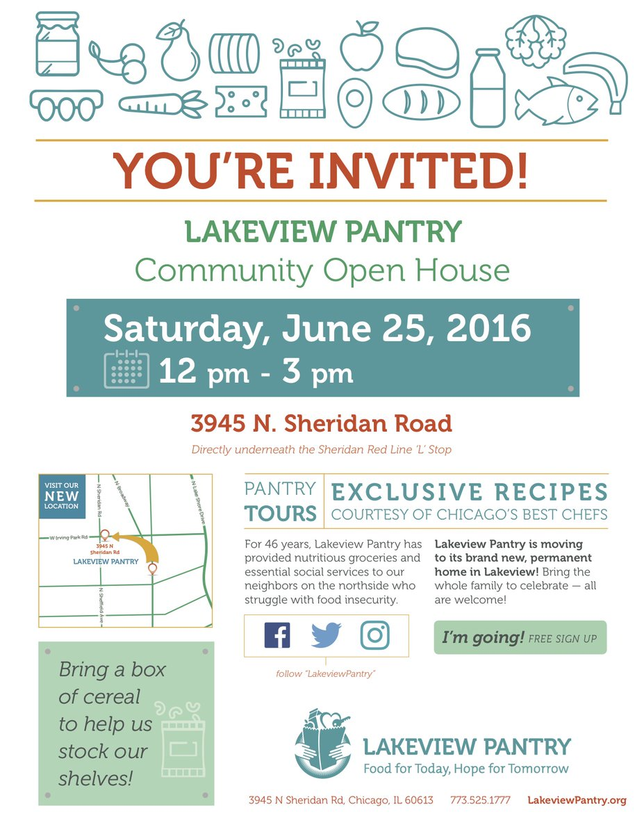 Uptown Update Lakeview Pantry Holds Open House Today To Show Off