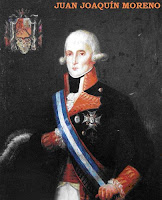 Juan Joaquín Moreno, Capitán General de la flotilla hispano-gala