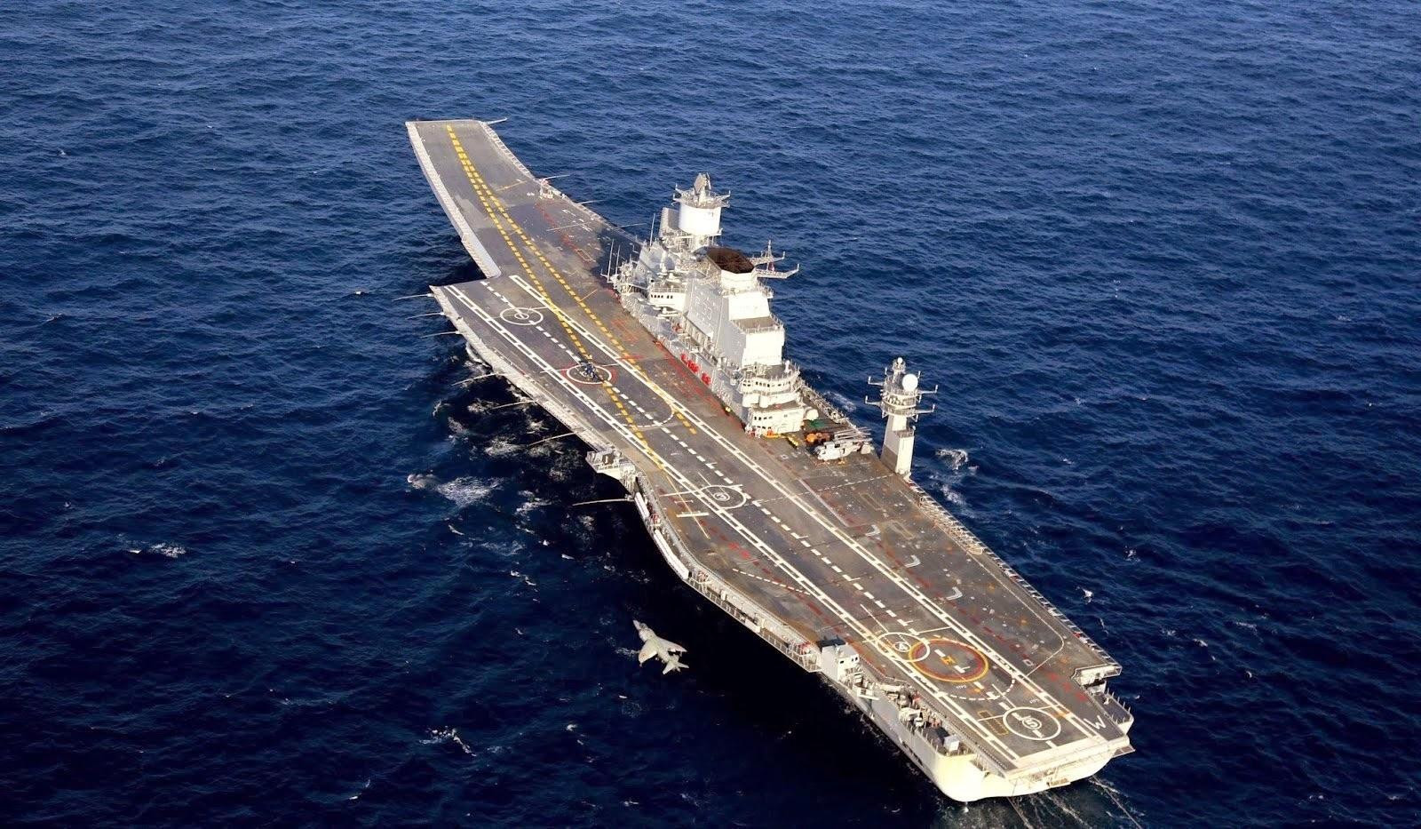indias second aircraft carrier - HD1600×933