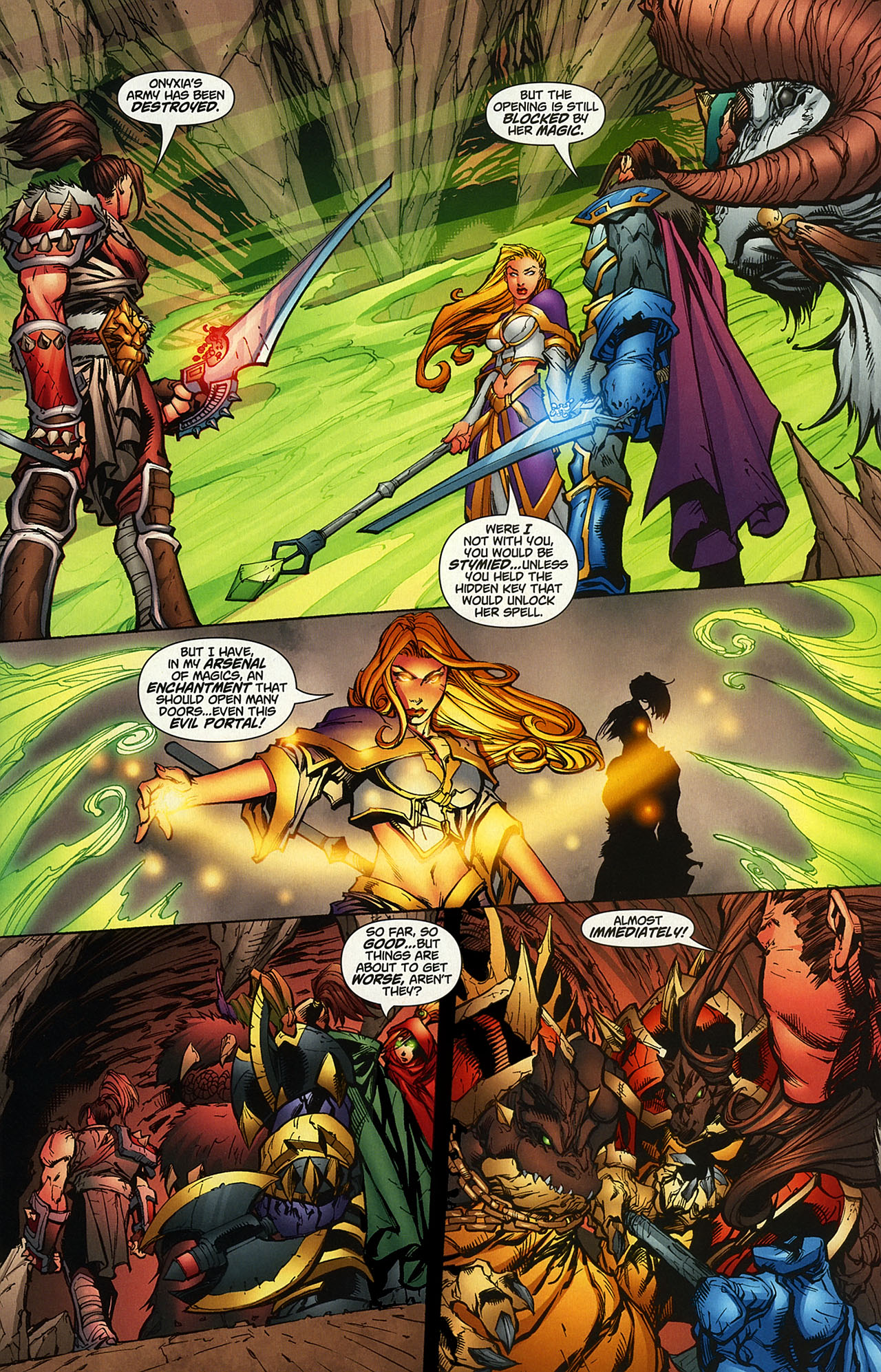 Read online World of Warcraft comic -  Issue #14 - 7