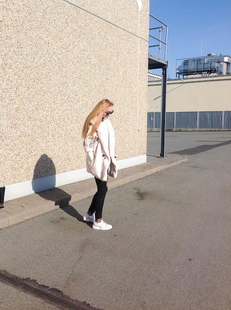 Wiosenny outfit: płaszcz z naszywkami i spodnie z wysokim stanem | Zaful & Sammydress ♡