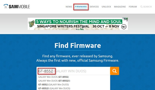 Cara Flash HP Samsung Semua Tipe Manual Lewat PC