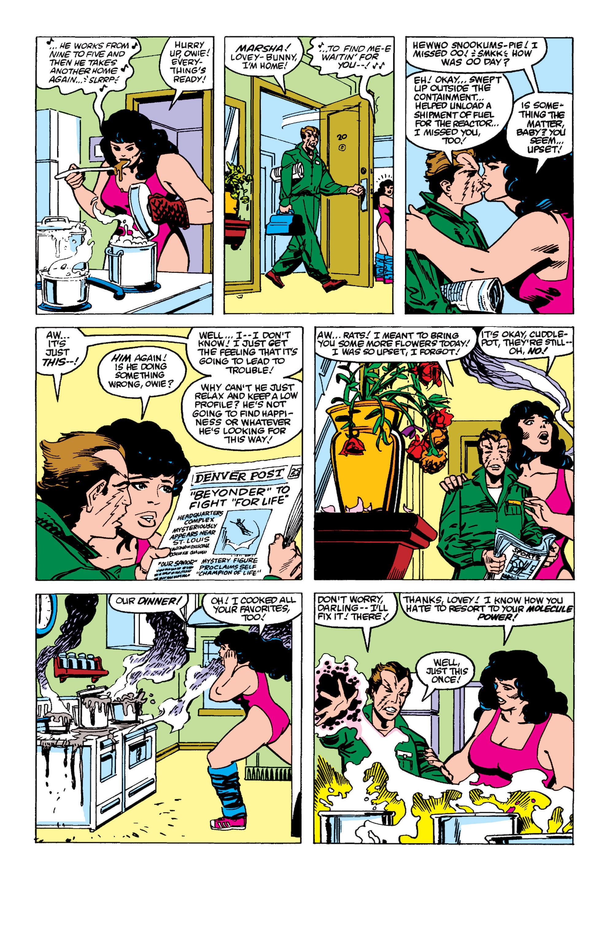 Read online Secret Wars II comic -  Issue #6 - 11