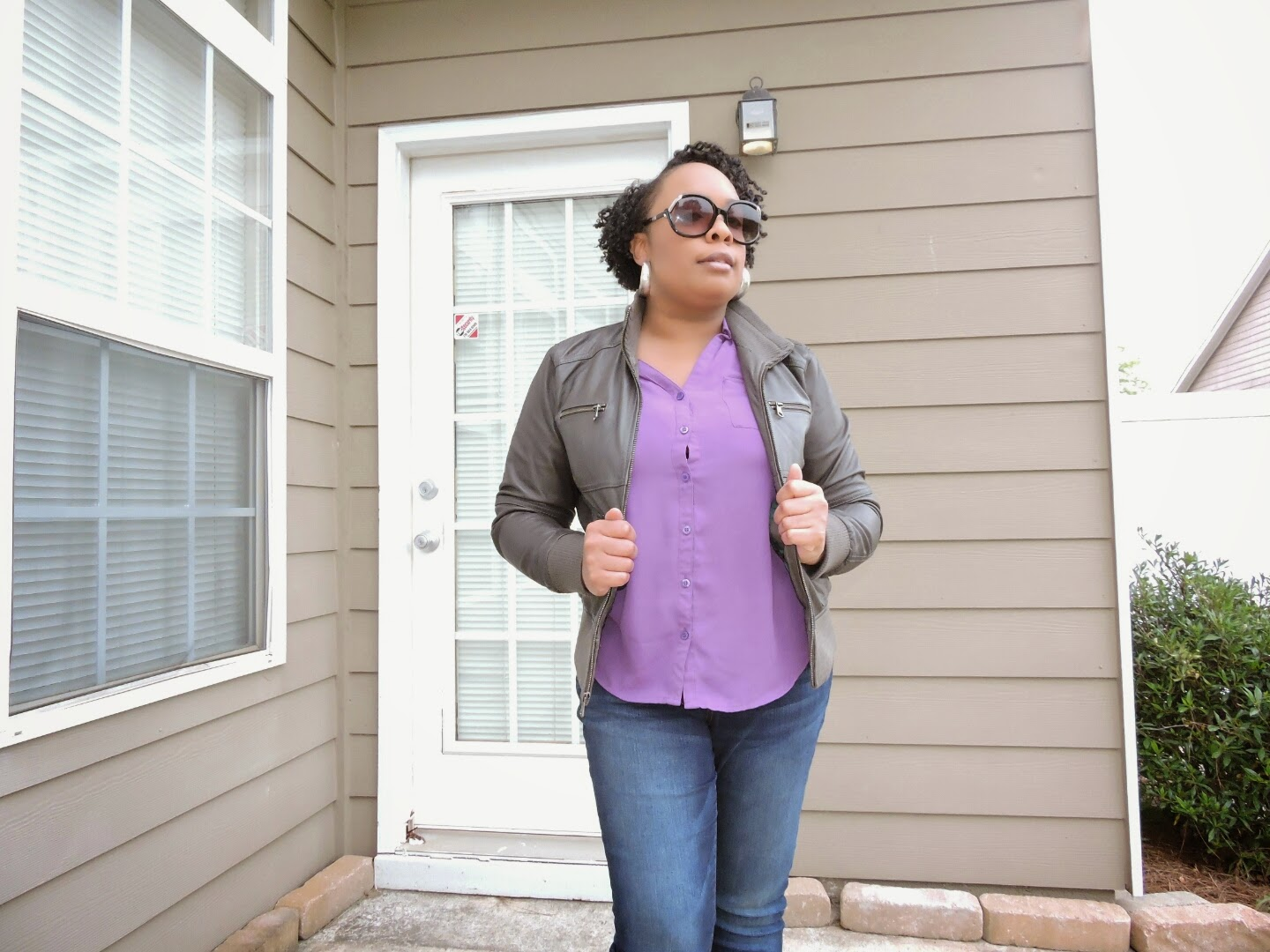 Wilsons Leather Jacket Review and Giveaway Ends 5/11  via www.productreviewmom.com