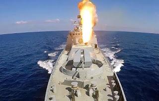 Tes Tembak Rudal Hipersonik Zircon dari Kapal Perang