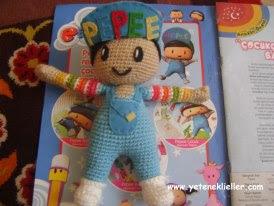 örgü oyuncak pepee yapımı