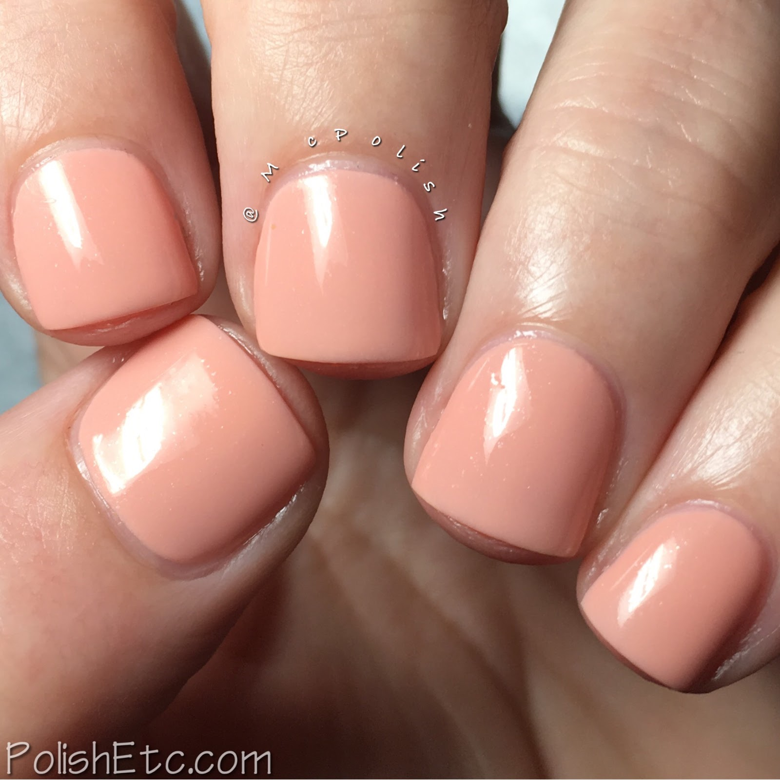 Pacifica - Nudes Nail Set - McPolish - Magic Conch Shell
