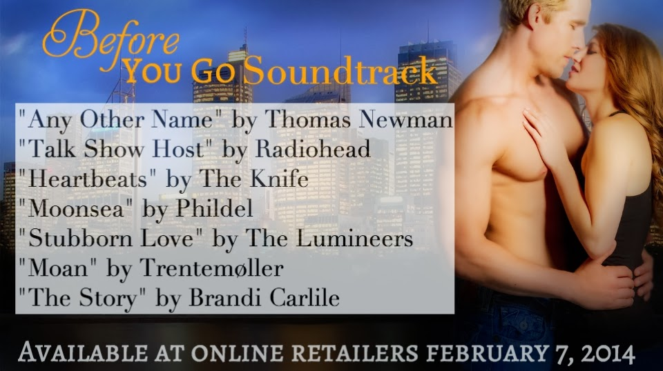 Ava Claire Romantica: 2 more days until Before You Go   and