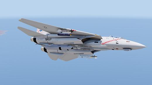 Arma3用F-14 Tomcat戦闘機MODのTARPS