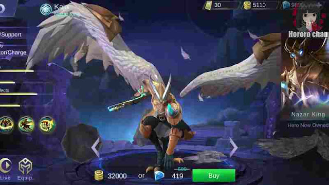hero kaja mobile legend