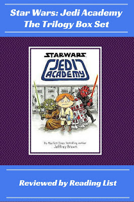 Star Wars: Jedi Academy  The Trilogy Box Set by Jeffrey Brown  A Children's Corner Feature on Reading List