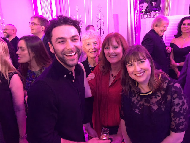 Aidan Turner, Caroline Blakiston, Debbie Horsfield, Karen Thrussell,Poldark , Radio Times Covers Party