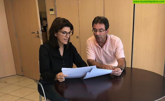 El Ayuntamiento de Puntallana solicita mejoras en las canchas de los colegios de Puntallana y La Galga