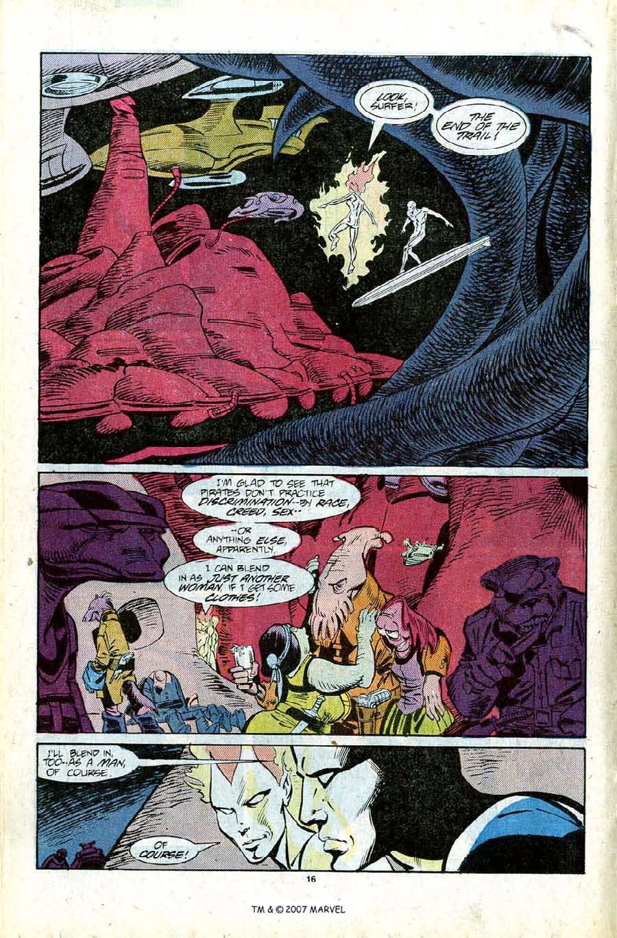 Read online Silver Surfer (1987) comic -  Issue #11 - 18