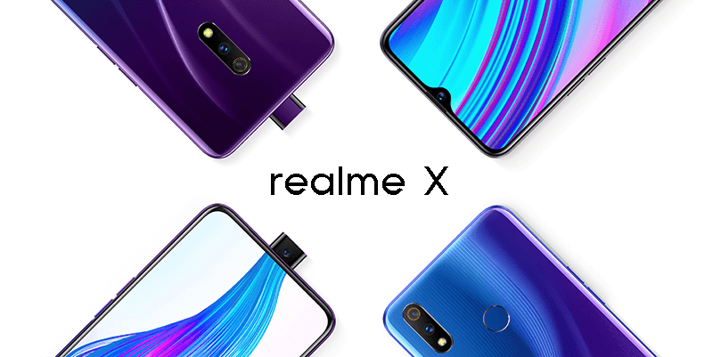 Realme X with Snapdragon 710 and pop-up camera officially launched