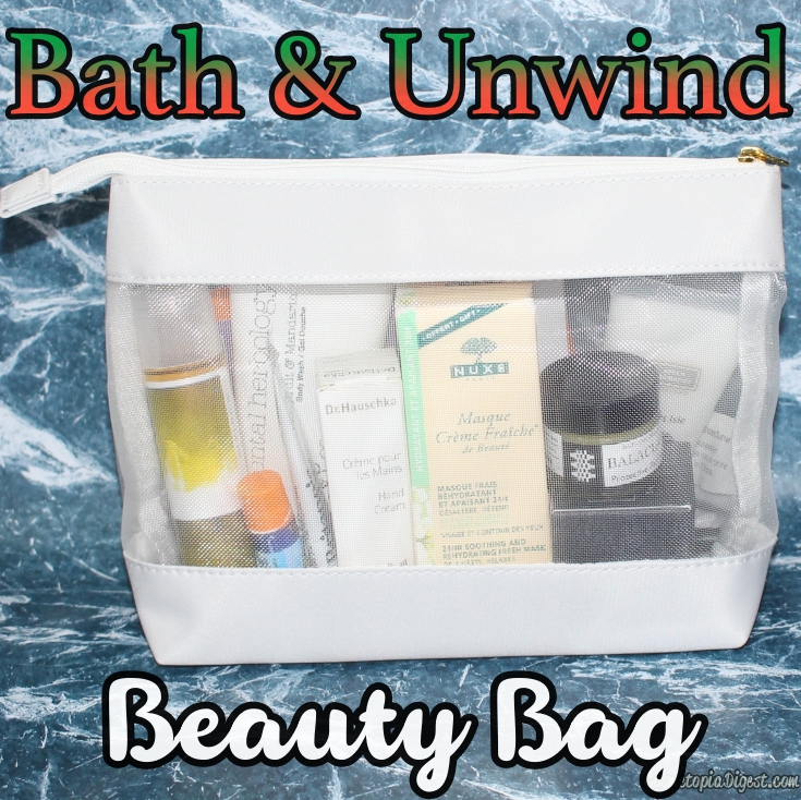 Bath & Unwind At Home With Tess Daly Beauty Bag December 2015 is a great Christmas gift.