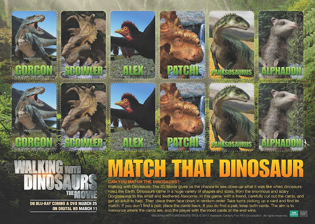 Geek Daddy Movie Giveaway Walking With Dinosaurs