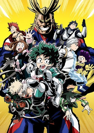 تقرير انمي Boku no Hero Academia (أكادمية بطلي)