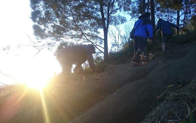 Track Menuju Puncak Sumbing
